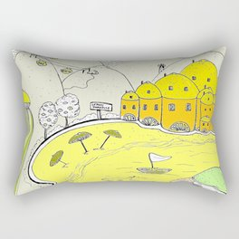Lemon paradise Rectangular Pillow