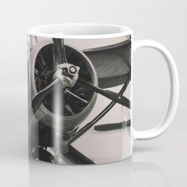 Vintage Military propeller aircraft photo print. Coffee Mug