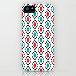 Retro Fun Pattern iPhone Case
