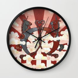 The Conflict II Wall Clock