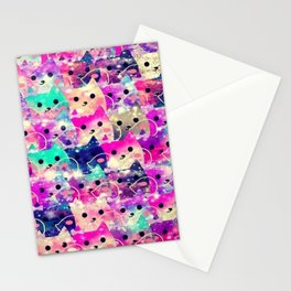 cats-72 Stationery Cards