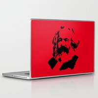 marx Laptop & iPad Skins featuring Marx by muffa