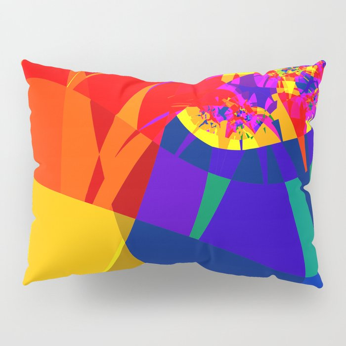 fractal composition N1 Pillow Sham