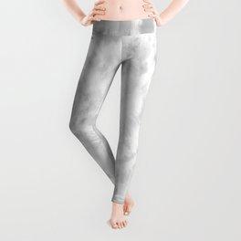 Gray Tie-Dye Leggings