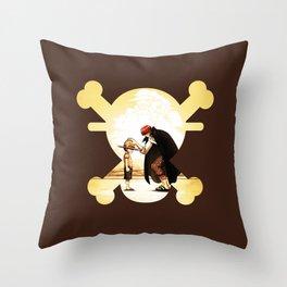 luffy kids Throw Pillow