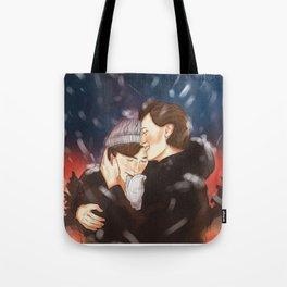 Isak+Even x Winter Tote Bag