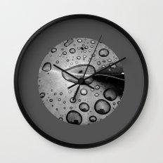water drops XI Wall Clock