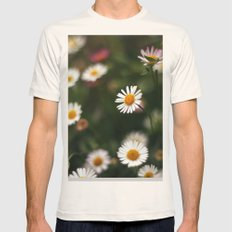 Hello! Mens Fitted Tee Natural SMALL