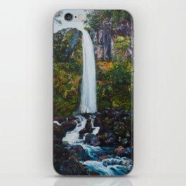 Dawson Falls, Mt Taranaki, New Zealand iPhone Skin