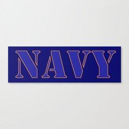 U.S. Navy  Canvas Print