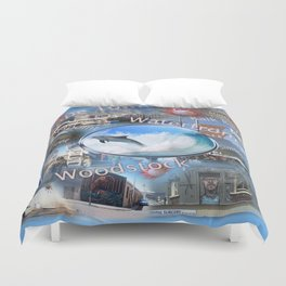 Greetings from Cape Town Duvet Cover