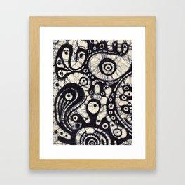 Abstract Batik 2 Framed Art Print