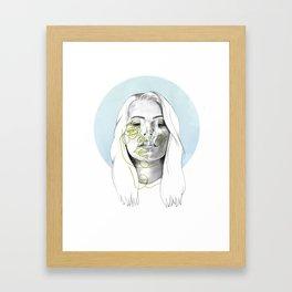 Izzy Framed Art Print