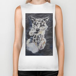 Little fox Biker Tank