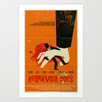 reservoir dogs Art Prints featuring Reservoir Dogs by Mark Welser