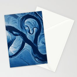 Mississippi Meander Blues 3 Stationery Cards