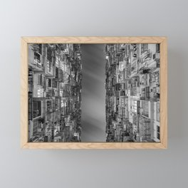 HONG KONG 24 Framed Mini Art Print