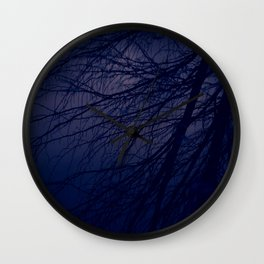 Twilight Silhouette Wall Clock