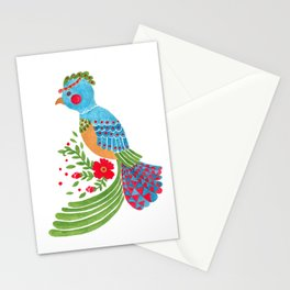 The Blue Quetzal Stationery Cards
