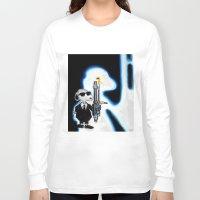 snoopy Long Sleeve T-shirts featuring MIB Snoopy by Karmaela.com
