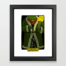 Ghost of Christmas Present Framed Art Print