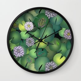 frogs Wall Clock