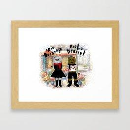 Blind Date Framed Art Print