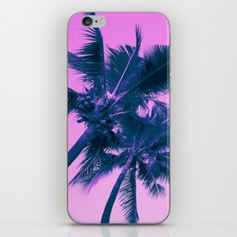 Palm Trees Pink iPhone Skin