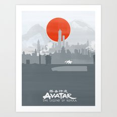 Avatar The Legend of Korra Poster Art Print