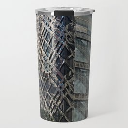 A Building in Chicago Travel Mug