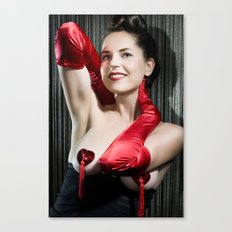 Pin-up Canvas Print