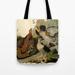 Ruffed Grouse (Bonasa umbellus) Tote Bag