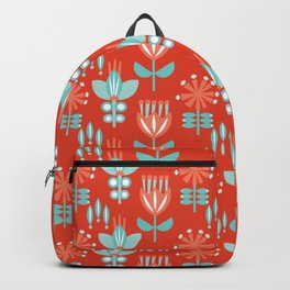 Whirlygig Floral Backpack