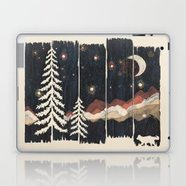 A Starry Night in the Mountains... Laptop & iPad Skin