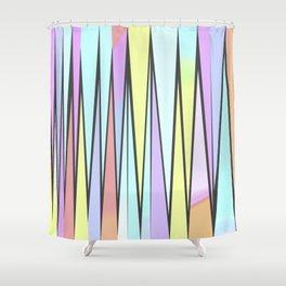 ZickZack pastell Shower Curtain