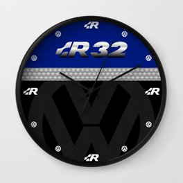 R32 Golf Wall Clock