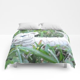 White Tiget Comforters