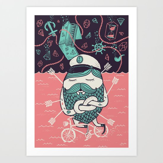 The Captain´s Dream Art Print