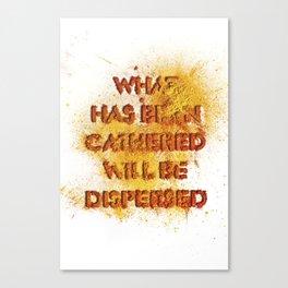 ephemera pigment 2 Canvas Print