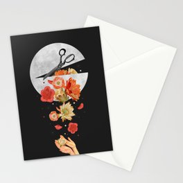 Moon Spill Stationery Cards