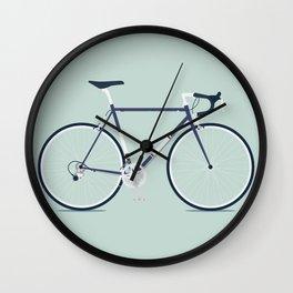 My Bike Violet Wall Clock
