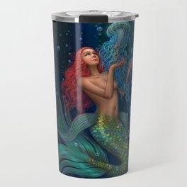 Beautiul mermaid Travel Mug