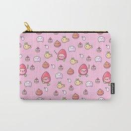 Ichigotchi Tamagotchi Pattern Carry-All Pouch