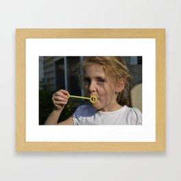 Get Ready for it... Framed Art Print