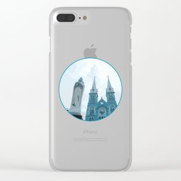 Vietnam Notre Dame Cathedral Ho Chi Minh City Clear iPhone Case