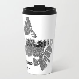 Auckland Map Travel Mug