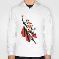 dc Hoodies featuring DC - Superman by TracingHorses