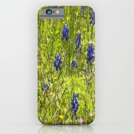 Texas Bluebonnets iPhone & iPod Case