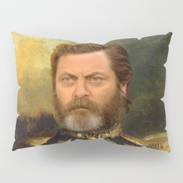 Nick Offerman Classical Painting Photoshop Pillow Sham