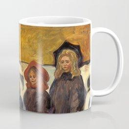 Four Girls in Åsgårdstrand by Edvard Munch Coffee Mug